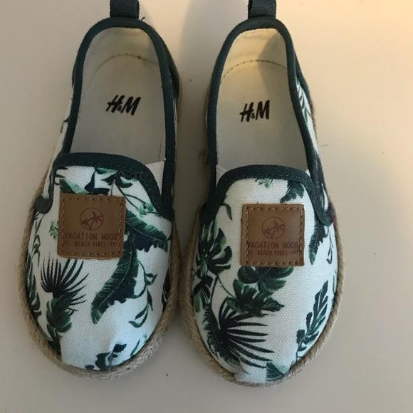 H&M Shoes | Toddler Boy Slip On | Poshmark